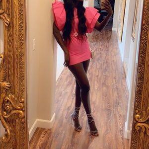 Pink Zara dress, brand new with tags.